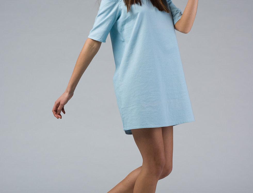 AARA A-line Cold Shoulder Dress