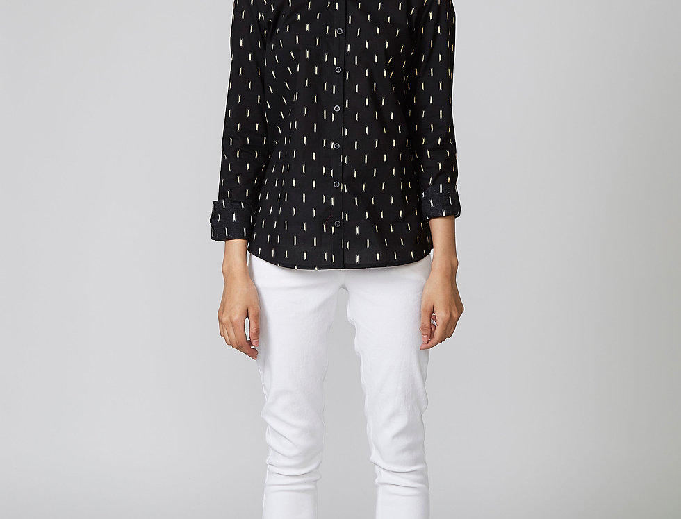 SIMIN Printed Shirt