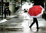 It has been raining since yesterday!