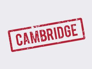 Вебинар от Cambridge
