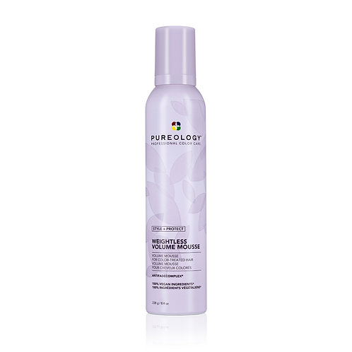 PUREOLOGY Weightless Volume Mousse 8.4oz