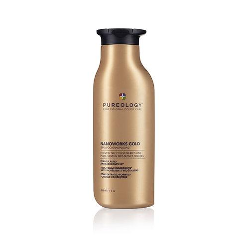 PUREOLOGY Nanoworks Gold Shampoo 266ml