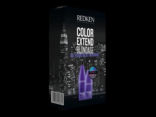 REDKEN Color Extend Blondage Shampoo & Conditioner Packs