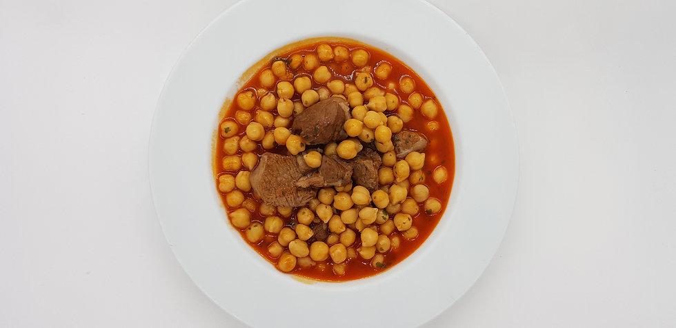 Garbanzos con cordero (Recetario) - GastroSpain
