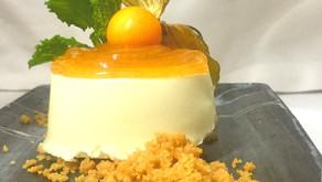 Tarta de queso de Arzúa con mermelada de higos del restaurante The Market Madrid, una receta fácil y