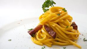 Espaguetis a la Carbonara, la receta de verdad, la de Andrea Tumbarello