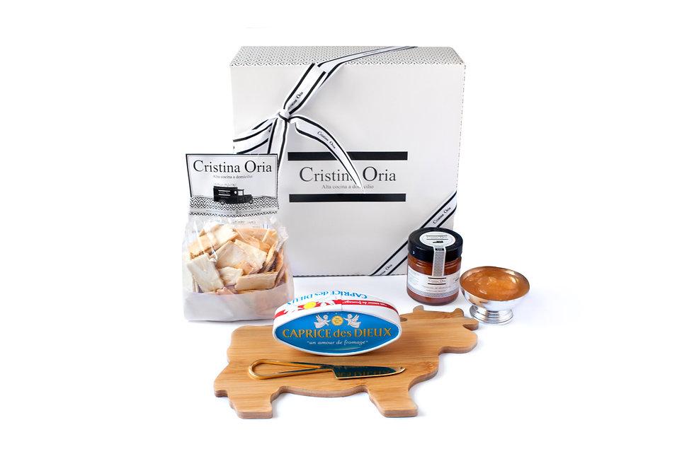 Cristina Oria & Caprice des Dieux caja regalo (Despensa) - GastroSpain
