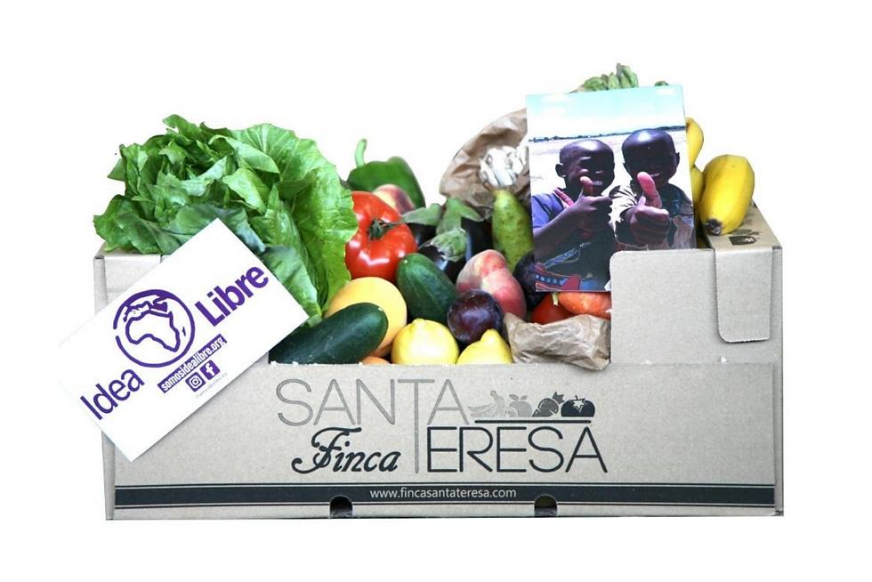 Finca Santa Teresa cajas solidarias (Fresquera) - GastroSpain