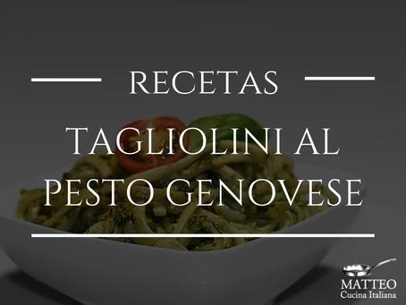 Tagliolini al Pesto Genovese, la receta de uno de nuestros básicos