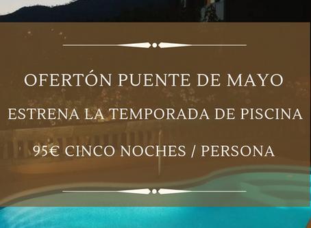 ¡Ven y estrena temporada de piscina en el Puente de Mayo con una nueva promoción!