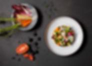 Crudites-Verduras, hortalizas,romesco, t