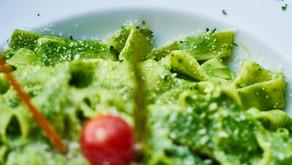 Tagliolini al Pesto Genovés, una receta del mejor restaurante italiano tradicional de Madrid, Matteo