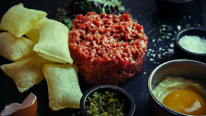 El Steak Tartare del Restaurante Rubaiyat, famoso en el mundo entero