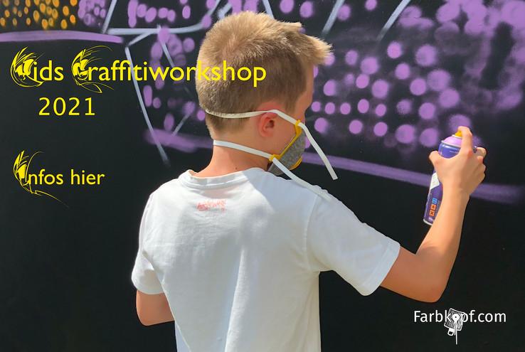 Kids Graffitiworkshop 2021