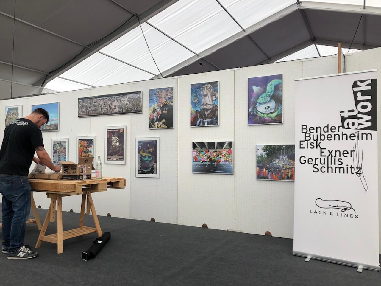 Ausstellung Graffiti im MKK,Messe-Wächtersbach 2018