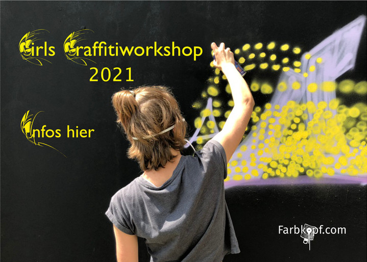 Girls Graffitiworkshop 2021