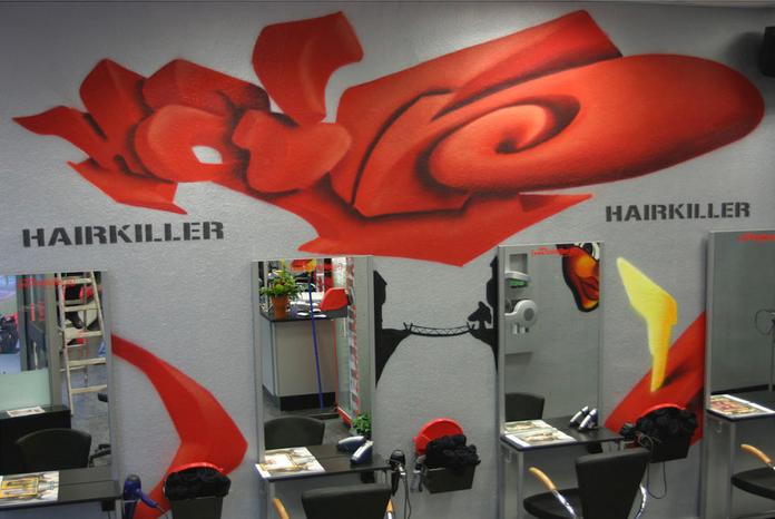 Innenraum-Gestaltung Hairkiller, Langenselbold
