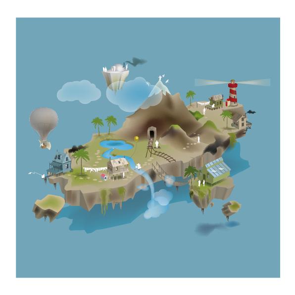 Basisopzet floating island