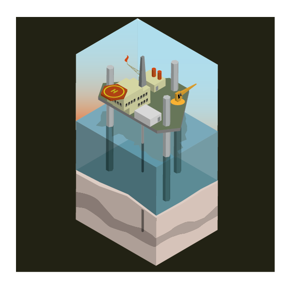 Asset- basic oil platform