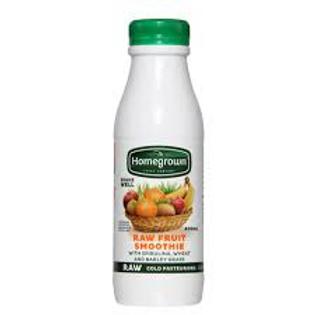 Homegrown Raw Fruit Smoothie 400ml