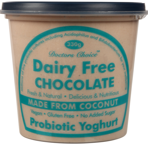 Dr Choice Dairy-Free Chocolate Coconut Yoghurt