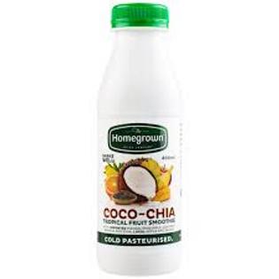 Homegrown Coco Chia Smoothie 400ml