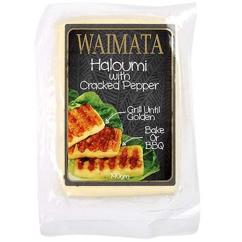 Waimata Haloumi with Cracked Pepper