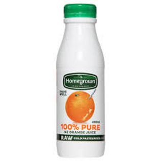 Homegrown Orange Juice 400ml