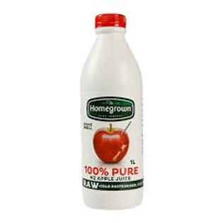 Homegrown Apple Juice 1L