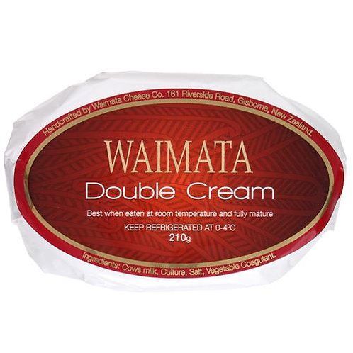Waimata Double Cream Camembert 210g