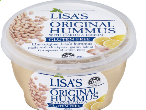 Lisa's Original Hummus 380g
