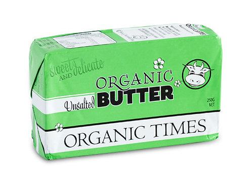 Organic Butter Unsalted 250g