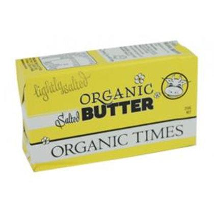 Organic Butter Salted 250g