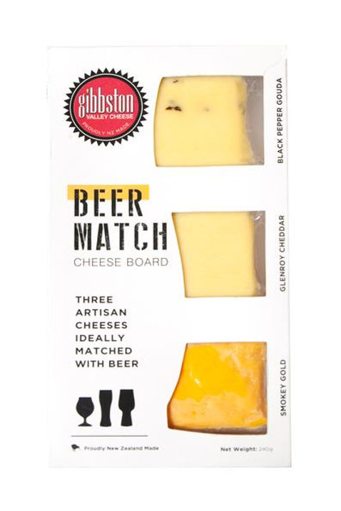 Gibbston Valley Cheese Beer Match Cheeseboard