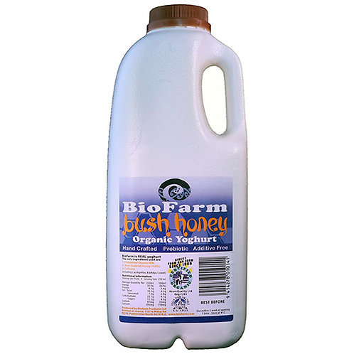 Bio Farm Organic Yoghurt Bush Honey 1L