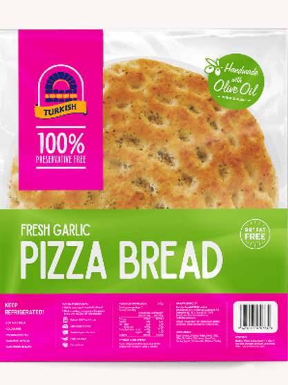 Turkish Bread Fresh Garlic Pizza Bread