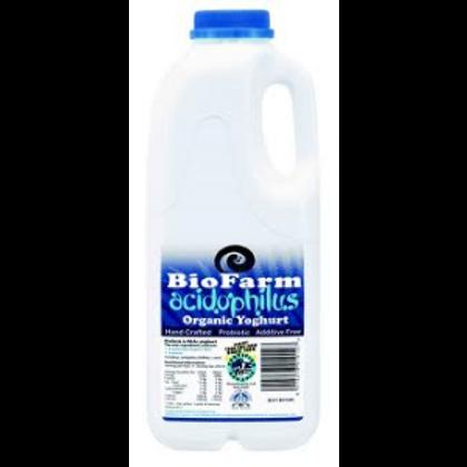 Bio Farm Organic Acidophilus Yoghurt 1L
