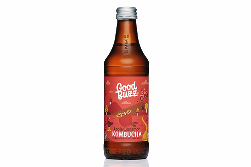 Good Buzz Kombucha Apple Cinnamon 328ml