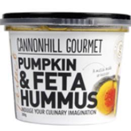 Cannonhill Gourmet Pumpkin & Feta Hummus