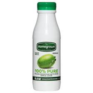 Homegrown Feijoa and Apple Smoothie 400ml