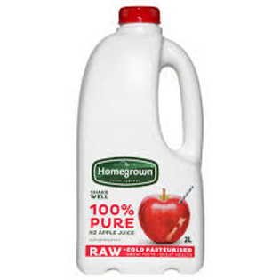 Homegrown Apple Juice 2L