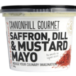 Cannonhill Gourmet Saffron, Dill & Mustard Mayo