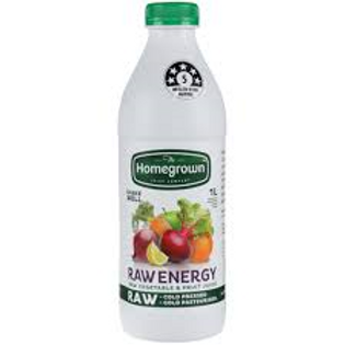 Homegrown Raw Energy Juice 1L