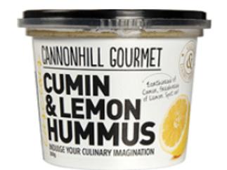 Cannonhill Gourmet Cumin & Lemon Hummus