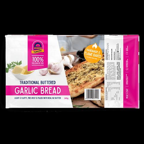 Turkish Bread Buttered Garlic Bread