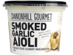 Cannonhill Gourmet Smoked Garlic Aioli