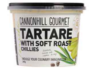 Cannonhill Gourmet Tartare with Soft Roast Chillies