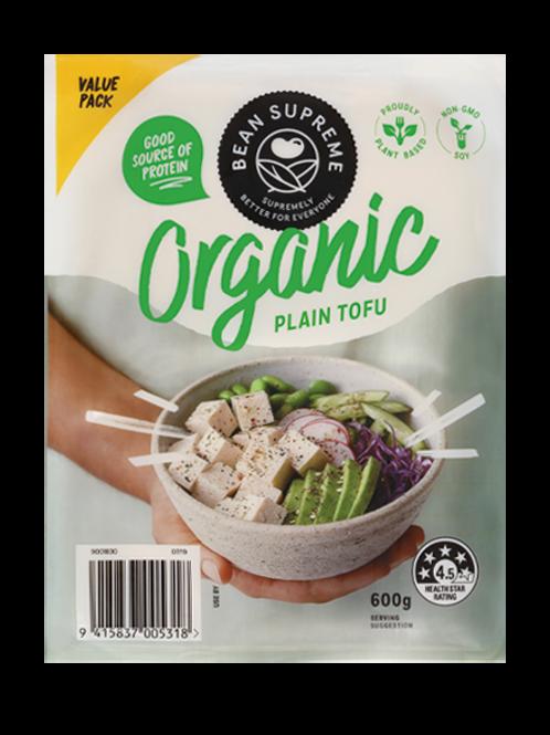 Bean Supreme Organic Plain Tofu