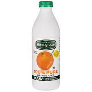 Homegrown Orange Juice 1L