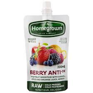 Homegrown Berry Anti-Ox Pouch 200ml